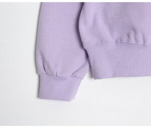 SONYUNARA(ソニョナラ)クリームボーイトレーナー韓国韓国ファッショントレーナースウェット刺繍オーバーサイズカジュアルレディースファッション【〇/〇up】【5】