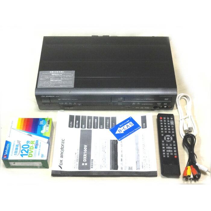 【中古】FUNAI DXR160V VHS一体型DVDレコーダー(地デジ対応)