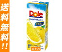 【送料無料】【2ケースセット】Dole(ドール) グレープフルーツ 200ml紙パック×18本入×(2ケース) ※北海道・沖縄は別途送料が必要。