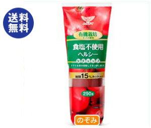 【送料無料】【2ケースセット】ハグルマ 有機栽培トマト使用 ヘルシーケチャップ 290g×20本入×(2ケース) ※北海道・沖縄は別途送料が必要。