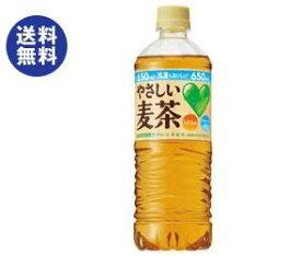 【送料無料】サントリー GREEN DAKARA(グリーン ダカラ) やさしい麦茶【手売り用】 650mlペットボトル×24本入 ※北海道・沖縄は別途送料が必要。