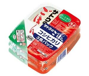 送料無料 サトウ食品 サトウのごはん コシヒカリ 3食パック (200g×3食)×12個入 ※北海道・沖縄は配送不可。