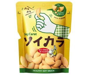 送料無料 大塚製薬 ソイカラ(SoyCarat) オリーブオイルガーリック味 27g×18袋入 ※北海道・沖縄は配送不可。