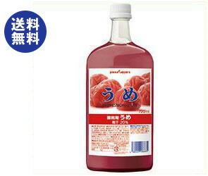 ポッカサッポロ業務用うめ720ml瓶×6本入
