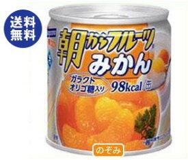 【送料無料】はごろもフーズ 朝からフルーツ みかん 190g缶×24個入 ※北海道・沖縄は別途送料が必要。
