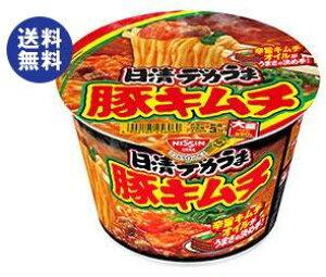 【送料無料】日清食品 日清デカうま 豚キムチ 101g×12個入 ※北海道・沖縄は別途送料が必要。
