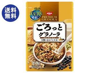 【送料無料】日清シスコ ごろっとグラノーラ きなこ仕立ての充実大豆 200g×8袋入 ※北海道・沖縄は別途送料が必要。