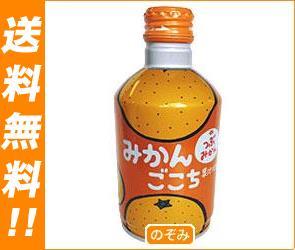 【送料無料】JAフーズおおいた みかんごこち 275gボトル缶×24本入 ※北海道・沖縄は別途送料が必要。