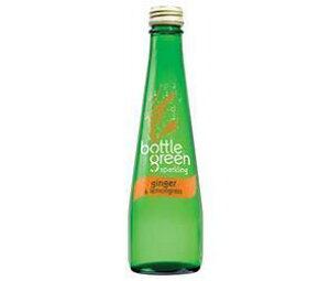 送料無料 シープロ ボトルグリーン レモングラス&ジンジャー 275ml瓶×12本入 ※北海道・沖縄は配送不可。