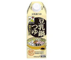 【送料無料】キッコーマン 湯葉もできる豆乳つゆ 750ml紙パック×6本入 ※北海道・沖縄は別途送料が必要。