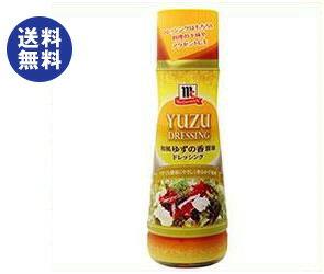 【送料無料】ユウキ食品 MC 和風ゆずの香醤油ドレッシング 300mlペットボトル×6本入 ※北海道・沖縄は別途送料が必要。