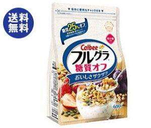 送料無料 【2ケースセット】カルビー フルグラ 糖質オフ 600g×6袋入×(2ケース) ※北海道・沖縄は配送不可。
