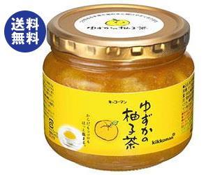 【送料無料】【2ケースセット】キッコーマン ゆずかの柚子茶 580g瓶×12本入×(2ケース) ※北海道・沖縄は別途送料が必要。
