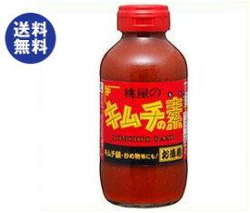 【送料無料】桃屋 キムチの素 お徳用 450g瓶×6本入 ※北海道・沖縄は別途送料が必要。