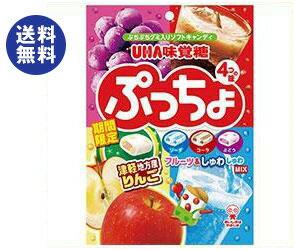 【送料無料】【2ケースセット】UHA味覚糖 ぷっちょ袋 4種アソート 98g×6袋入×(2ケース) ※北海道・沖縄は別途送料が必要。