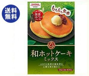 送料無料 昭和産業 (SHOWA) 和ホットケーキミックス 340g×6箱入 ※北海道・沖縄は別途送料が必要。