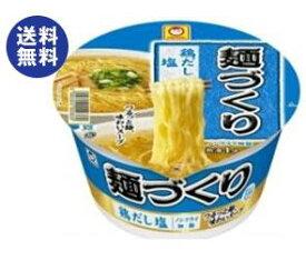 送料無料 東洋水産 マルちゃん 麺づくり 鶏だし塩 87g×12個入 ※北海道・沖縄は配送不可。