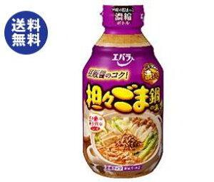 送料無料 エバラ食品 担々ごま鍋の素 300ml瓶×12本入 ※北海道・沖縄は配送不可。