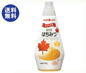 送料無料 加藤美蜂園本舗 サクラ印 カナダ産純粋はちみつ 400g×12本入 ※北海道・沖縄は配送不可。