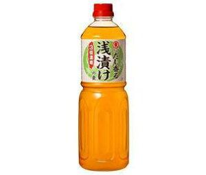 送料無料 ヒガシマル醤油 浅漬けの素 3倍濃縮 1Lペットボトル×6本入 ※北海道・沖縄は配送不可。