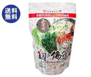 送料無料 【2ケースセット】樽の味 麹の鍋つゆ 味噌風味 680g×12袋入×(2ケース) ※北海道・沖縄は配送不可。