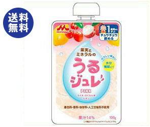 【送料無料】森永乳業 うるジュレ PINK 100gパウチ×36本入 ※北海道・沖縄は別途送料が必要。