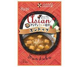 送料無料 ハチ食品 アジアングルメ紀行 スンドゥブ 180g×20袋入 ※北海道・沖縄は別途送料が必要。