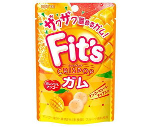 送料無料 ロッテ Fit's Crispop(クリスポップ) オレンジ&マンゴー 27g×10個入 ※北海道・沖縄は配送不可。