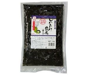 送料無料 カモ井 しいたけ昆布(甘口) 1kg×1袋入 ※北海道・沖縄は配送不可。