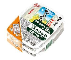 送料無料 【2ケースセット】サトウ食品 サトウのごはん 九州産ひのひかり 3食パック (200g×3食)×12個入×(2ケース) ※北海道・沖縄は配送不可。