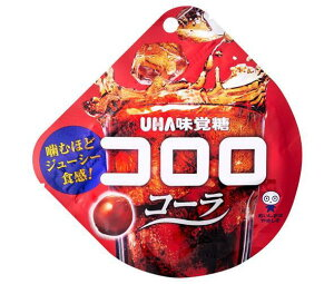 送料無料 UHA味覚糖 コロロ コーラ 40g×6袋入 ※北海道・沖縄は配送不可。
