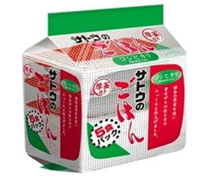 送料無料 【2ケースセット】サトウ食品 サトウのごはん コシヒカリ 5食パック (200g×5食)×8個入×(2ケース) ※北海道・沖縄は配送不可。