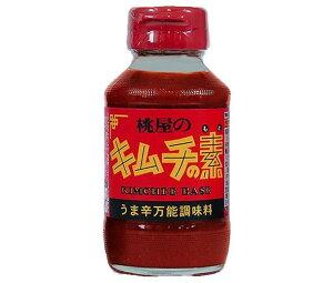 送料無料 桃屋 キムチの素 190g瓶×12本入 ※北海道・沖縄は配送不可。