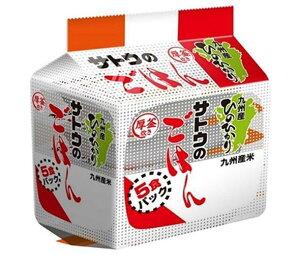 送料無料 サトウ食品 サトウのごはん 九州産ひのひかり 5食パック (200g×5食)×8個入 ※北海道・沖縄は配送不可。
