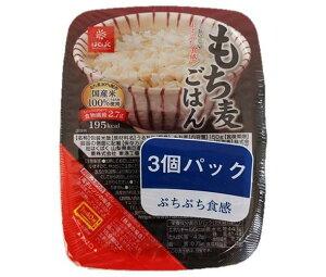 送料無料 【2ケースセット】はくばく もち麦 無菌パック 3個パック 450g(150g×3個)×12個入×(2ケース) ※北海道・沖縄は配送不可。