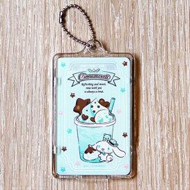 シナモロール「チョコミント」ピーカ+クリアパスケース