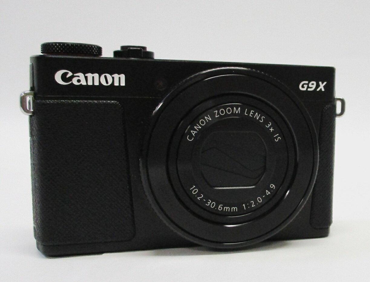 【中古】 (キヤノン) Canon POWERSHOT G9 X MARK ブラック【中古カメラ コンパクトデジカメ】美品 動作確認済み 元箱あり SDHC 16GB 付き