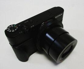 【中古】ソニー SONY DSC-RX100 コンパクトデジタルカメラ Cyber-shot(サイバーショット)[DSCRX100] ブラック 美品(使用感はありません) ソニーストアにてメンテナンス済み 動作確認済み 元箱あり SDHC 16GB 付き