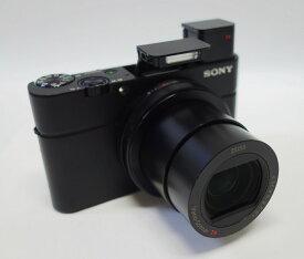 【中古】ソニー SONY DSC-RX100M3 コンパクトデジタルカメラ Cyber-shot(サイバーショット)[DSCRX100M3] ブラック 美品 動作確認済み 元箱あり SDHC 16GB 付き
