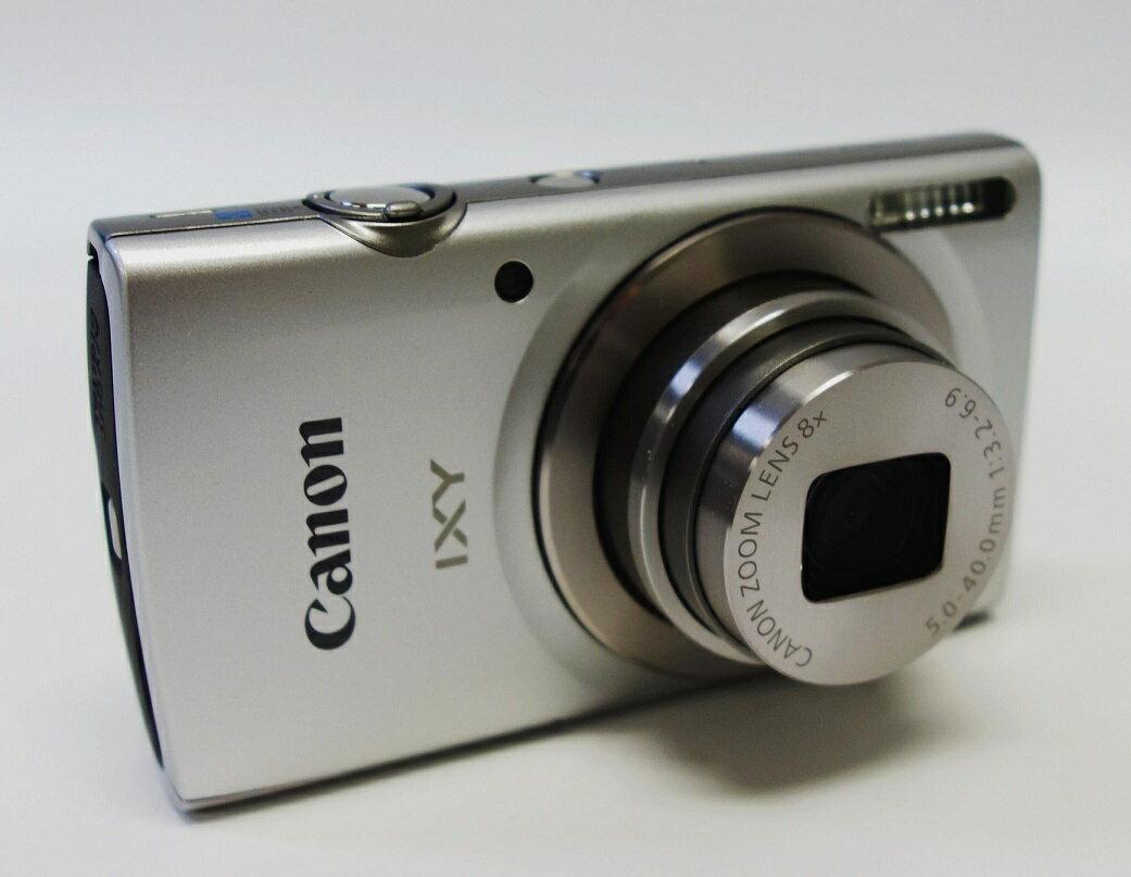 【中古】 (キヤノン)キヤノン Canon IXY180 シルバー【中古カメラ コンパクトデジカメ】美品 動作確認済み SDHC 8GB 付き