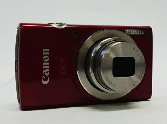 【中古】 (キヤノン)キヤノン Canon IXY180RE レッド【中古カメラ コンパクトデジカメ】美品 動作確認済み SDHC 8GB 付き