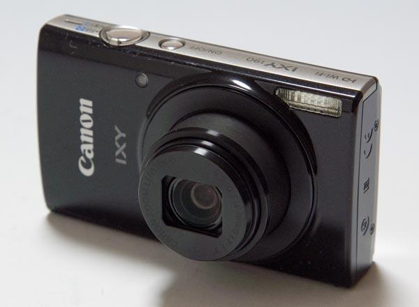 【中古】キャノン CANON IXY190 コンパクトデジタルカメラ IXY(イクシー)ブラック[IXY190BK]元箱付き 【商品NO-01】
