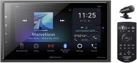 【在庫あり、即日発送(13時まで)】パイオニア カーオーディオ カロッツェリア DMH-SZ700 6.8型 Amazon Alexa搭載 AppleCarPlay AndroidAuto™対応 2DIN Bluetooth/USB