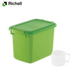 【直送品のため・代金引換・後払い不可】リッチェル/Richell ペットフードキーパー3.5 グリーン (GR)