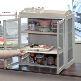 桐製蝿帳 幅47cm ◆送料無料◆ 食物収納庫 キッチン収納庫 食物収納ラック はえ帳 はい帳 食品収納庫 おかず置き 食料収納ラック 食料収納庫
