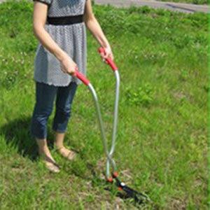 【在庫あり】立ち草刈りバサミ 立作業用 芝生雑草刈込ハサミ GL-100 立ち草刈り鋏の通販