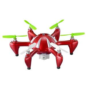 ラジコン ヘリコプター 4ch カメラ付き ★送料無料★ 【マルチコプター SYN-130C エイリアンX-6】 ジャイロ搭載 空撮 ラジコンヘリ 安定飛行 ビデオカメラ