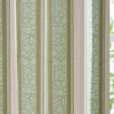 カーテン遮光カーテン遮熱/保温裏地付2重カーテンエレガンスジャガード花柄オーダーカーテンドレープカーテン幅310cm〜幅400cm丈70cm〜丈140cm【カーテン】curtain