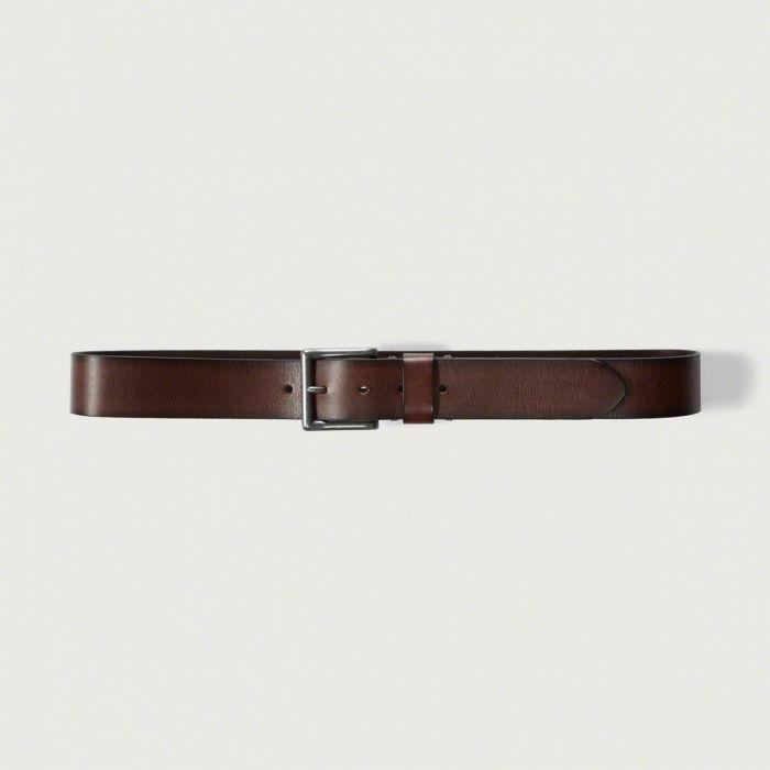 ◆【送料無料】【新品】アバクロ【Mensメンズ】ヴィンテージレザーベルト/Brown【Classic Leather Belt】【Abercrombie&Fitch】【本物保証】