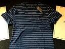 ◆【送料無料】【新品】アバクロ【Mensメンズ】ボーダークルーネックネックTシャツ(半袖)/Navy Stripe【Striped Crew-Neck Tee】...